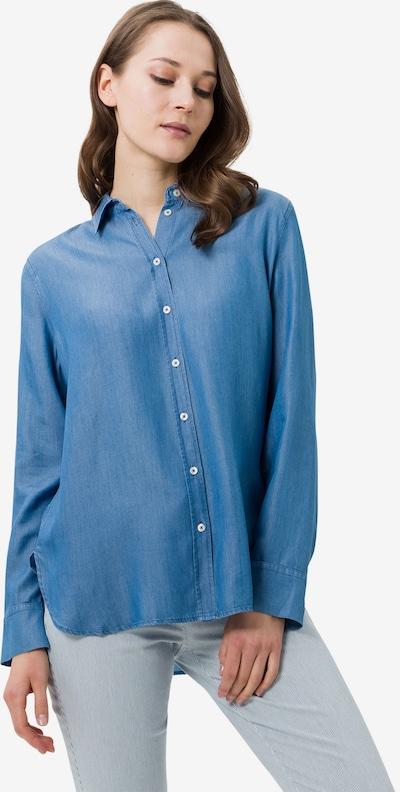 BRAX Bluse 'Victoria' in blue denim, Modelansicht