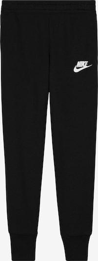 Kelnės iš Nike Sportswear, spalva – juoda / balta, Prekių apžvalga