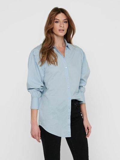 JACQUELINE de YONG Blouse 'Cameron Life' in de kleur Lichtblauw, Modelweergave