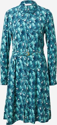 Fabienne Chapot Robe-chemise 'Hayley' en turquoise / blanc, Vue avec produit