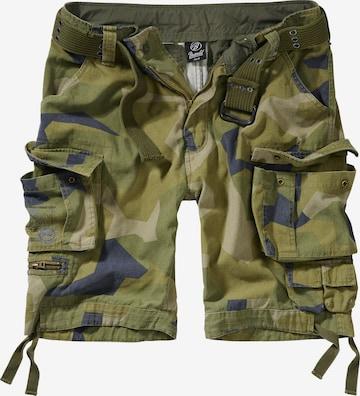 Brandit Shorts 'Savage Vintage' in Grün