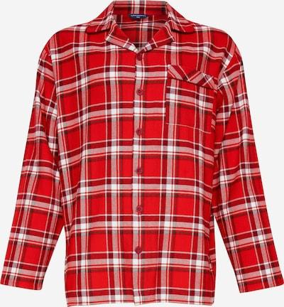 Cyberjammies Pyjamahemd in rot / weiß, Produktansicht
