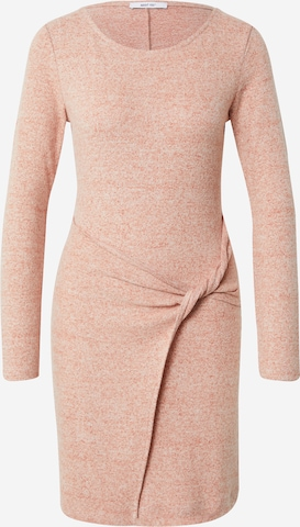 ABOUT YOU Knit dress 'Rebecca' in Brown