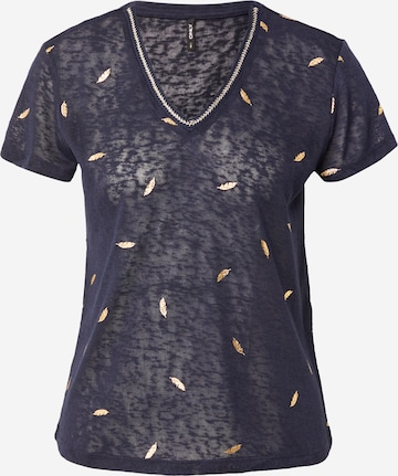 ONLY Shirt 'STEPHANIA' in Blauw