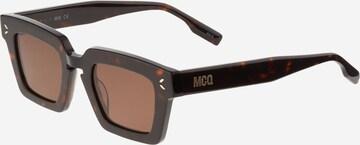 McQ Alexander McQueen Слънчеви очила в кафяво