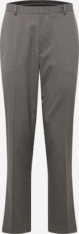 BURTON MENSWEAR LONDON Trousers with creases in Grey