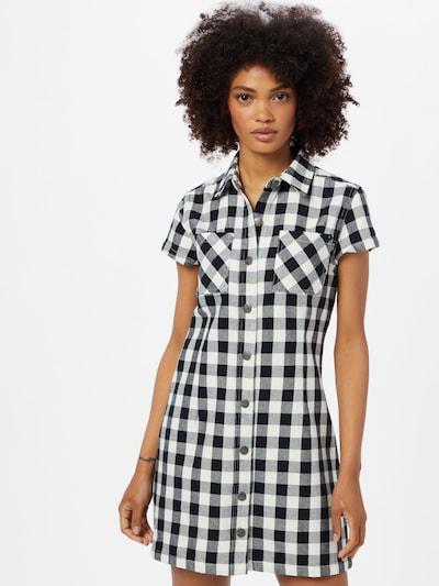 Afends Blousejurk 'Piper' in de kleur Zwart / Wit, Modelweergave