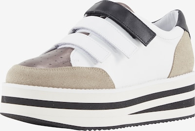 heine Sneakers low in Brown / White, Item view