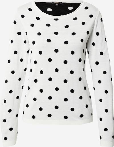 Pullover MORE & MORE di colore nero / bianco, Visualizzazione prodotti