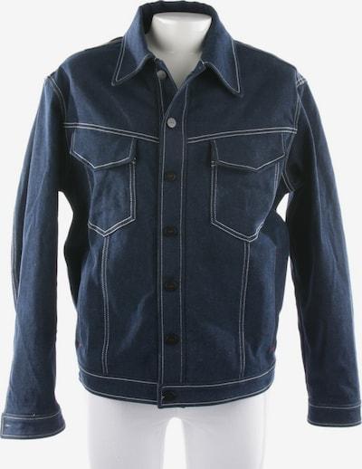 Fendi Jeansjacke in L-XL in dunkelblau, Produktansicht