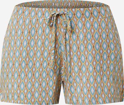 ETAM Pyjamahousut 'ACACIA' värissä turkoosi / keltainen / persikka / musta / valkoinen, Tuotenäkymä