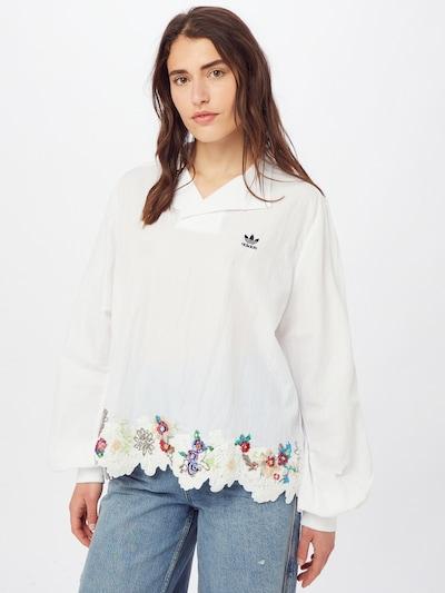 ADIDAS ORIGINALS Bluse in mischfarben / weiß, Modelansicht