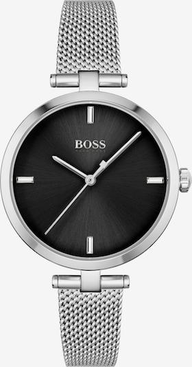 BOSS Casual Uhr 'Majesty' in schwarz / silber, Produktansicht