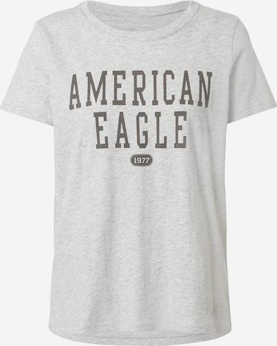 antracit / szürke melír American Eagle Póló, Termék nézet
