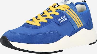 FRANKLIN & MARSHALL Sneaker 'ALPHA VINTAGE' in royalblau / gelb, Produktansicht