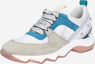 Donna Carolina Baskets basses en bleu / rose / blanc, Vue avec produit