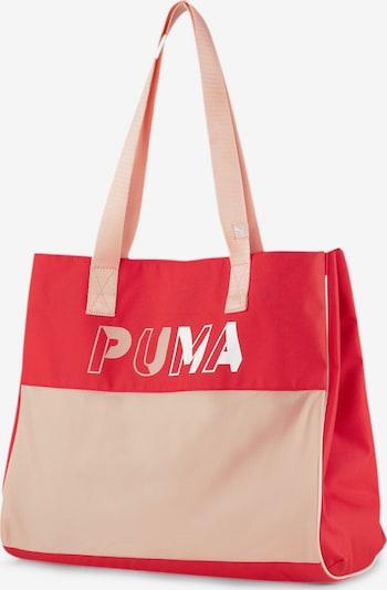 PUMA Shopper in pastellpink / blutrot, Produktansicht