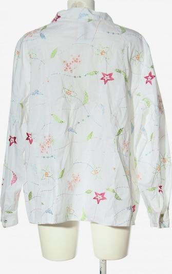 SAMOON Langarmhemd in 5XL in pastellgelb / pink / weiß, Produktansicht