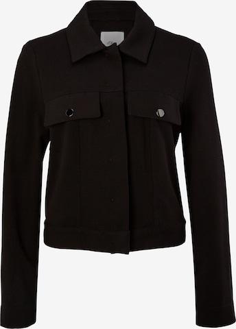 s.Oliver BLACK LABEL Between-Season Jacket in Black