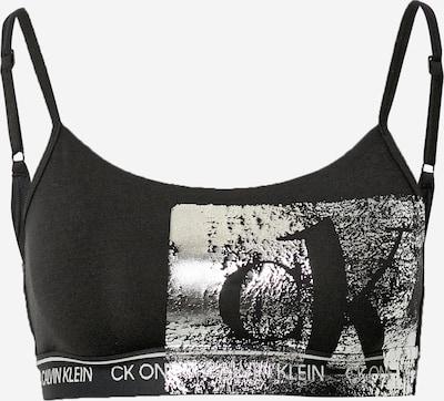 Calvin Klein Underwear Soutien-gorge en noir / argent, Vue avec produit