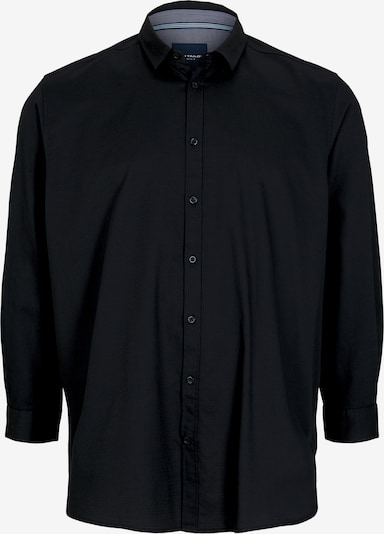 TOM TAILOR Men Plus Hemd in schwarz, Produktansicht