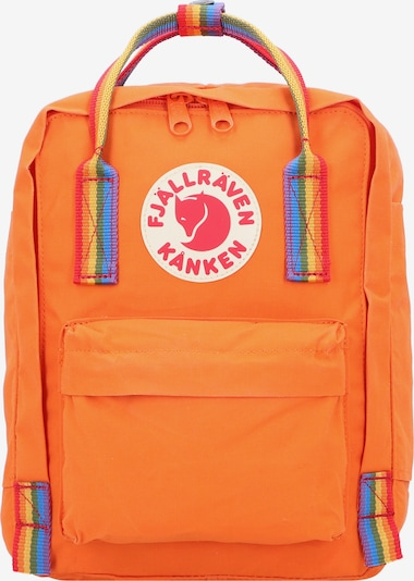Fjällräven Rucksack 'Kanken Rainbow Mini City' in orange, Produktansicht