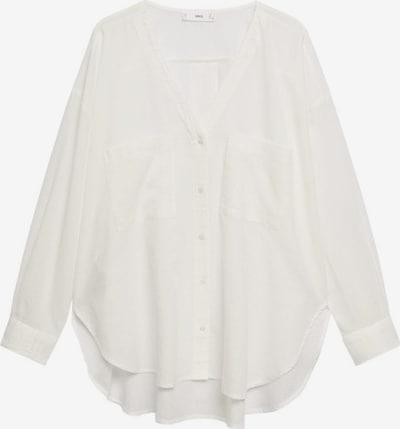 MANGO Blouse 'Lua' in mottled white, Item view