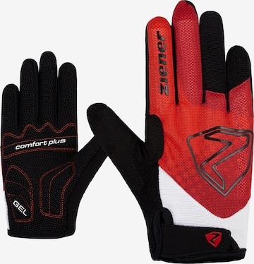 ZIENER Athletic Gloves 'COLJA' in Red