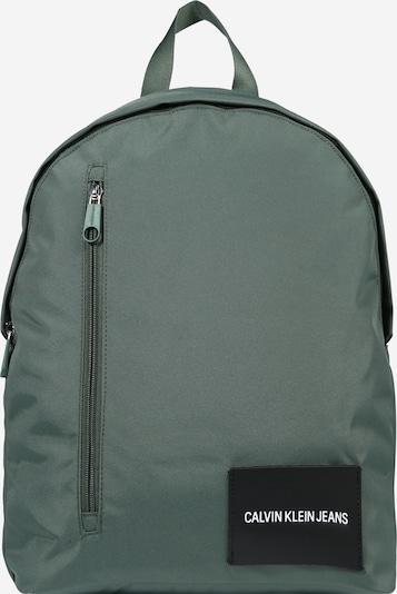 Calvin Klein Jeans Reppu värissä pastellinvihreä / musta, Tuotenäkymä