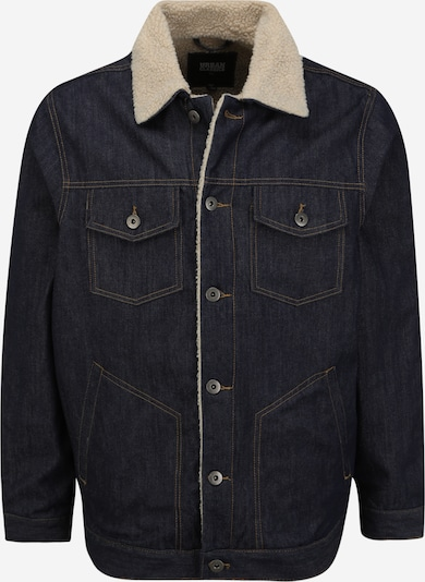Urban Classics Big & Tall Starpsezonu jaka bēšs / tumši zils, Preces skats