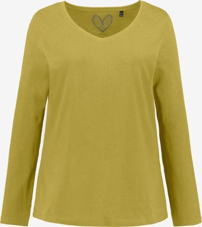 Ulla Popken Shirt '719505' in senf, Produktansicht