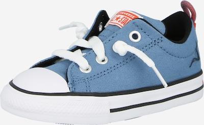 CONVERSE Sneaker 'CTAS' in rauchblau / rot / weiß, Produktansicht