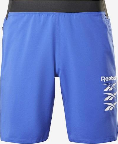 Reebok Sport Sportbroek in de kleur Blauw, Productweergave