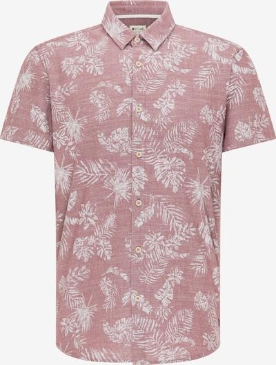 MUSTANG Hemd in altrosa / weiß, Produktansicht