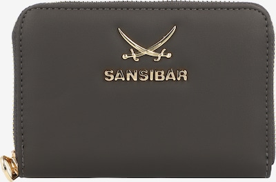 SANSIBAR Portemonnaie in dunkelgrün, Produktansicht