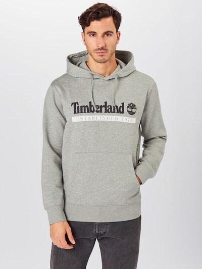 TIMBERLAND Sweatshirt in de kleur Grijs / Zwart / Wit: Vooraanzicht