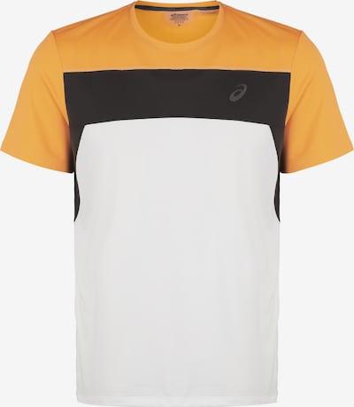 ASICS Shirt 'Race' in gelb / schwarz / weiß, Produktansicht