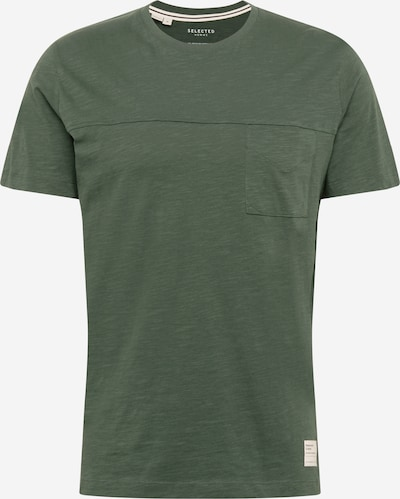 SELECTED HOMME T-Shirt in smaragd, Produktansicht