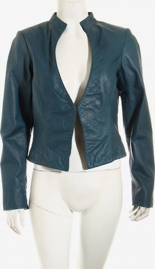 GreenHouse Outfitters Leder-Blazer in M in petrol, Produktansicht