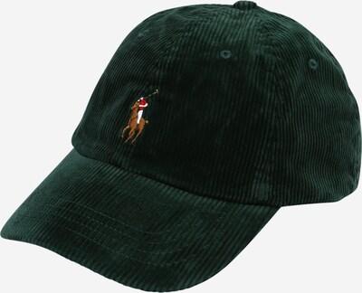 Polo Ralph Lauren Cap in braun / smaragd / rot / weiß, Produktansicht