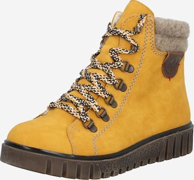 RIEKER Sněhule - tmavě žlutá, Produkt
