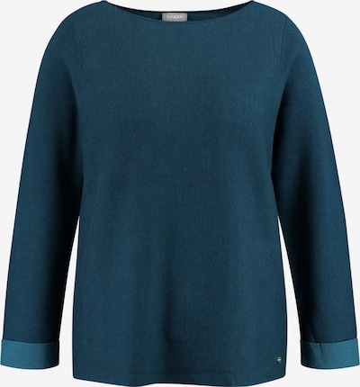 SAMOON Pullover in taubenblau, Produktansicht