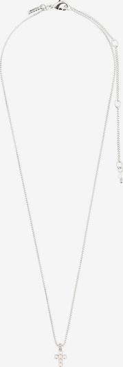 Pilgrim Chaîne 'Lacey' en argent / blanc perle, Vue avec produit