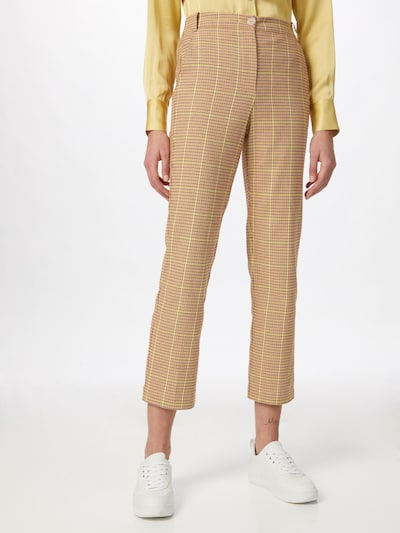 PATRIZIA PEPE Chino trousers in Beige / Yellow, View model