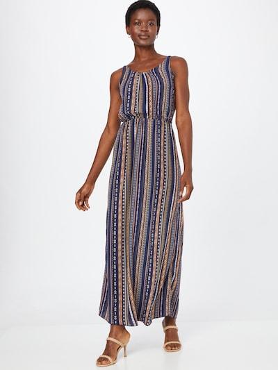 Hailys Kleid 'Doris' in navy / braun / hellgelb / rosa / weiß, Modelansicht