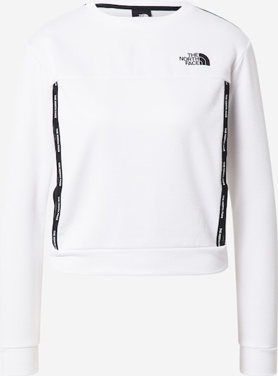 THE NORTH FACE Sport sweatshirt i svart / vit, Produktvy