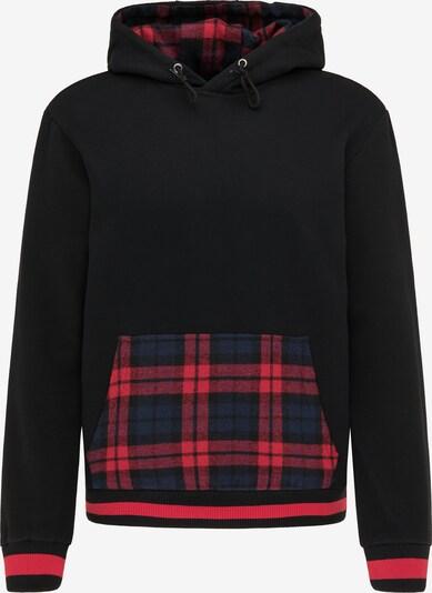 MO Sweatshirt in navy / grenadine / schwarz, Produktansicht