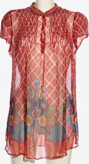 MAGIC WOMAN Transparenz-Bluse in M in blau / rot / weiß, Produktansicht