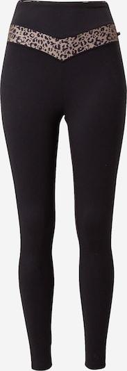 Marika Pantalon de sport 'JESSE' en noisette / noir, Vue avec produit