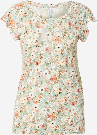 Hailys T-shirt 'Rosie' en menthe / mélange de couleurs, Vue avec produit